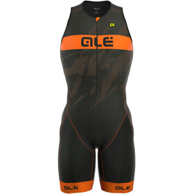 Alé Cycling Triathlon Long Record Heren Front Zipper oranje/zwart